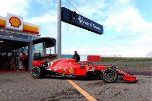 Giuliano Alesi, hijo de Jean, prueba por primera vez una Ferrari