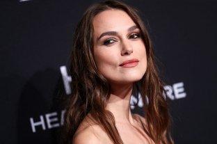 Keira Knightley no filmará más escenas eróticas con directores hombres