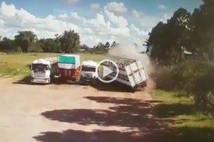 Video: un hombre murió por la explosión de una caldera en un frigorífico