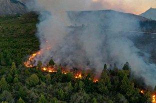 Un incendio sin control ya arrasó más de 2.000 hectáreas cerca de El Bolsón y genera preocupación