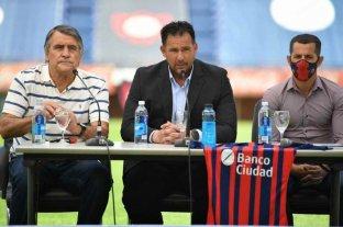 """Diego Dabove: """"Quiero que San Lorenzo tenga personalidad y protagonismo"""""""