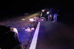 Siniestro fatal en Ruta Nacional 11: murió una motociclista -
