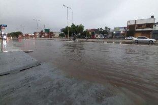 Intensas lluvias provocan anegamientos en localidades de Corrientes