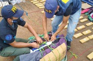 Secuestran más de 180 kilos de marihuana en Puerto Iguazú