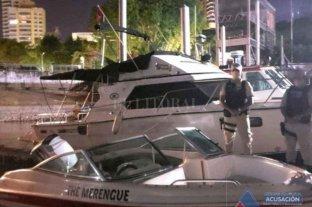 Demoraron a 16 personas por participar de una fiesta clandestina a bordo de un yate en el río Paraná