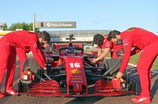 Charles Leclerc inicia la temporada de pruebas en Fiorano