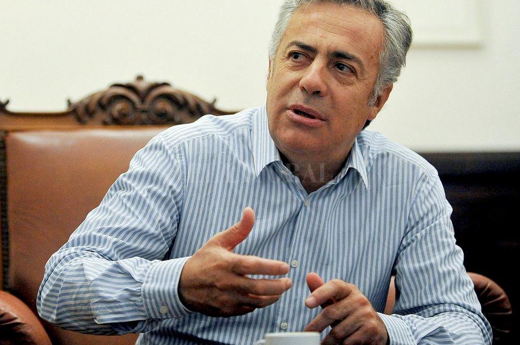 Alfredo Cornejo. Crédito: Archivo El Litoral