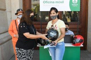 """Un casco de regalo para motociclistas """"primerizos"""""""