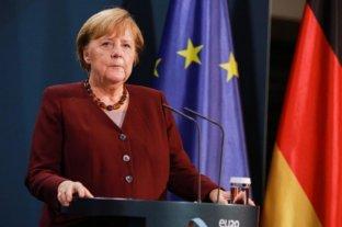 """Merkel pide una """"repartición justa"""" en el mundo de las vacunas contra el coronavirus"""
