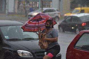 Alerta vigente por tormentas -