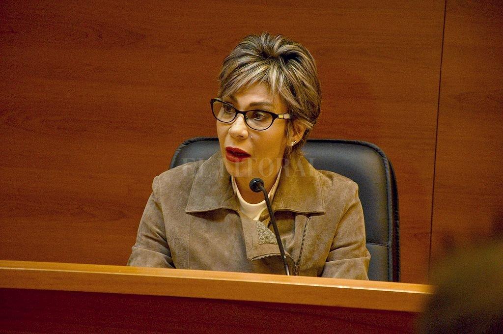 La jueza Susana Luna presidirá el tribunal designado para este juicio oral. Crédito: Archivo El Litoral / Guillermo Di Salvatore
