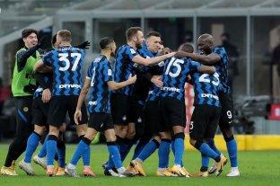 En tiempo de descuento, Inter le ganó el clásico a Milan y avanzó a las semifinales de Copa Italia