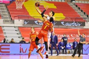 Buena tarea de Juan Pablo Vaulet en el básquetbol de España