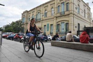 ¿Dónde están las bicicletas públicas de la ciudad?   - Cuando comenzó la pandemia, el Municipio decidió comenzar a prestarlas al personal de salud.