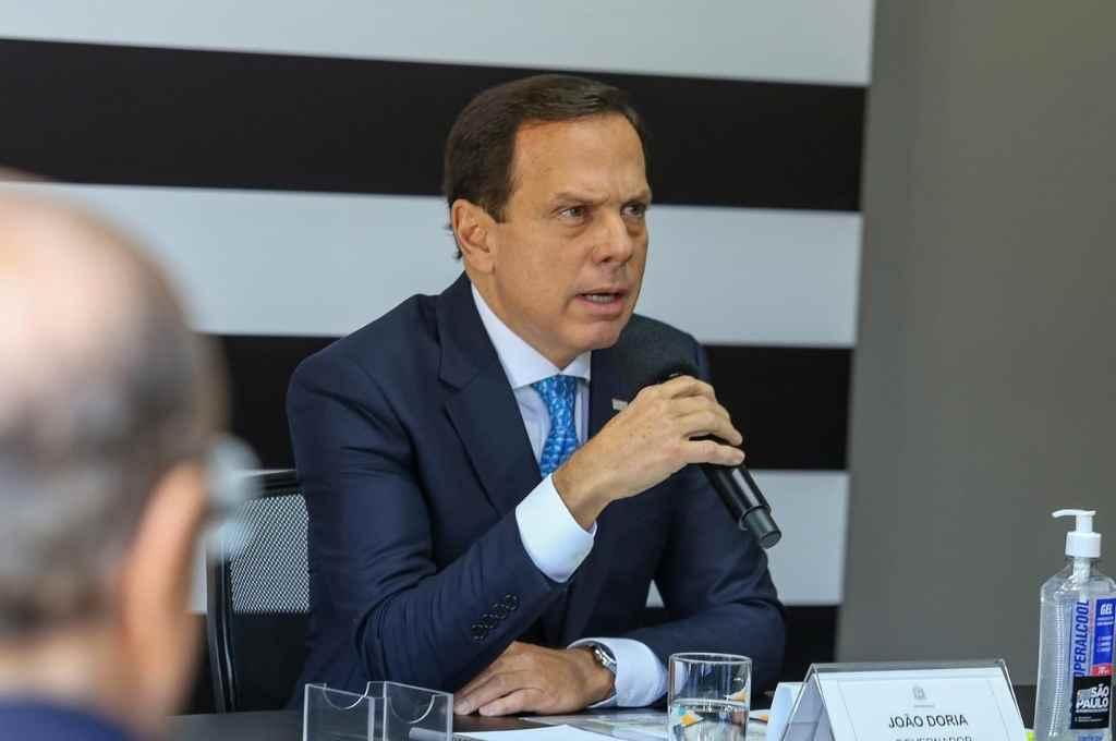 Joao Doria, gobernador de San Pablo. Desafió a Bolsonaro semanas atrás, al iniciar la vacunación por su cuenta.    Crédito: Gentileza