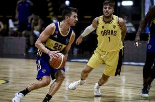 Boca derrotó a Obras Basket y sigue firme en la LNB