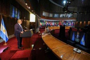 """Fernández dijo en Chile que la pandemia """"es una oportunidad para barajar y dar de nuevo"""""""
