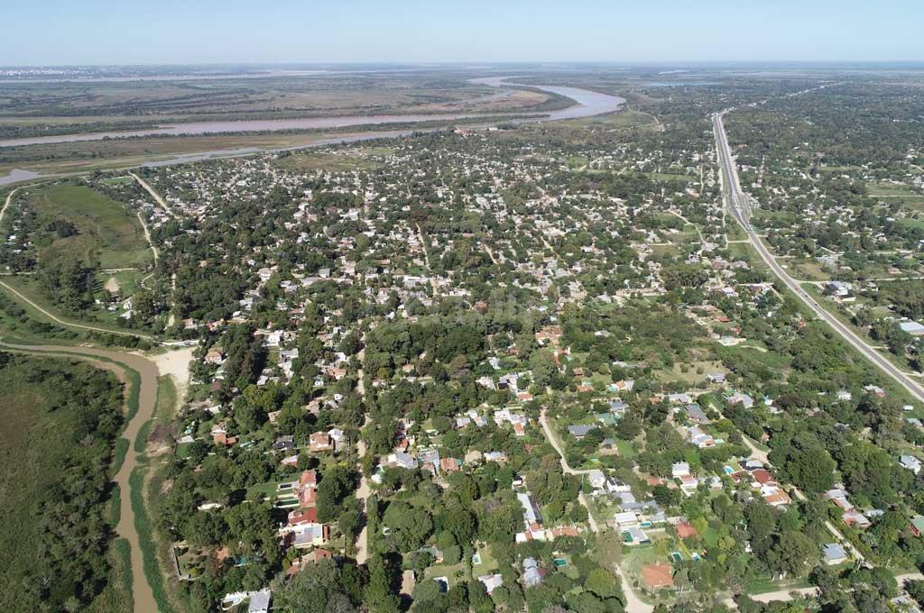 La zona de la Costa ofrece descanso y relax, pero también se ve afectada por la inseguridad que azota a Santa Fe Crédito: Fernando Nicola (Drone)