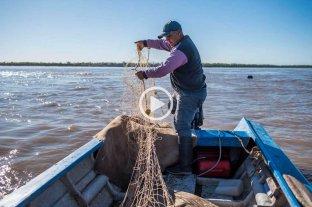 Un día en la vida de los pescadores de la Bajada del Espinillo