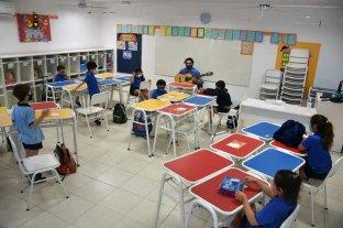"""""""Las clases van a empezar"""", afirmó Perotti"""