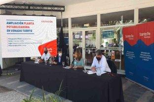 Licitaron obras de saneamiento por 254 millones de pesos para el departamento General López