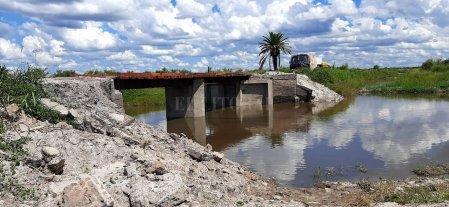 Culminó la reparación del puente El Tajamar en el departamento Vera