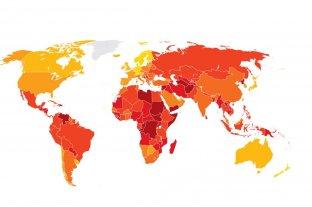 Argentina retrocedió en el ranking de corrupción de Transparencia Internacional