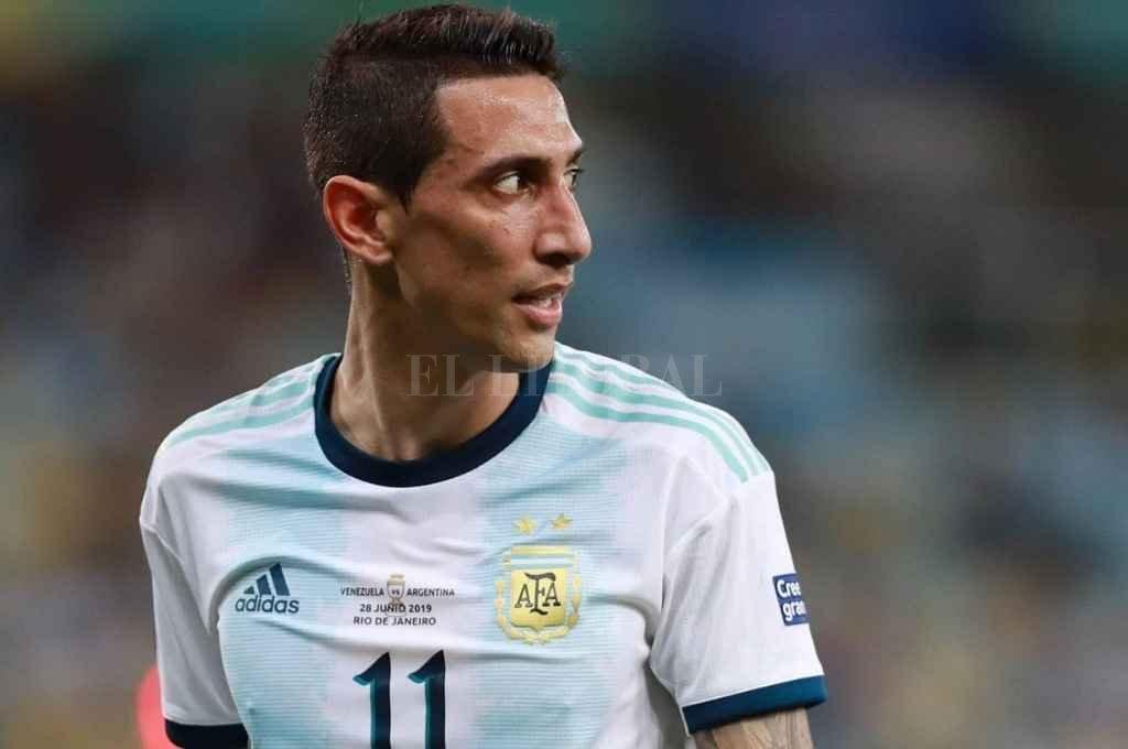 Ángel Di María volvió a la selección en la última jornada de Eliminatorias para Qatar 2022 Crédito: Gentileza