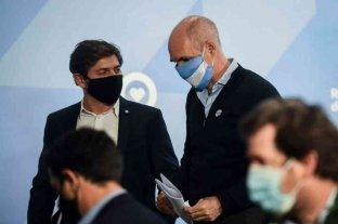 Kicillof le pidió a Horacio Rodríguez Larreta que se vacune contra el coronavirus