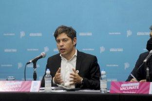 Kicillof anunció la extensión del horario nocturno hasta las 2 en la provincia de Buenos Aires