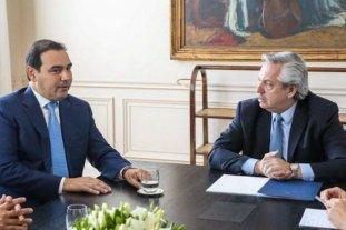 Alberto Fernández se reúne con el gobernador de Corrientes