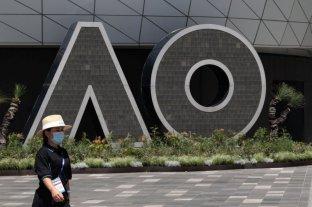 Más de 500 tenistas fueron aislados por un caso de Covid-19 en Melbourne