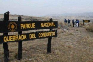 Obras de infraestructura para el Parque Nacional Quebrada del Condorito