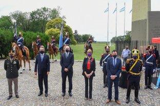 Se llevaron a cabo los actos por el 208° aniversario del Combate de San Lorenzo