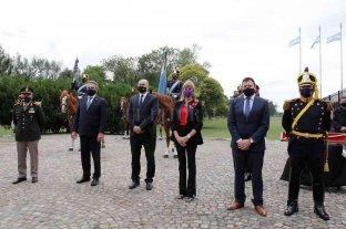 Rindieron homenaje en el 208º aniversario del histórico combate de San Martín y sus granaderos