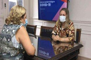 La diputada Ciancio trasladó gestiones a la ministra de Salud