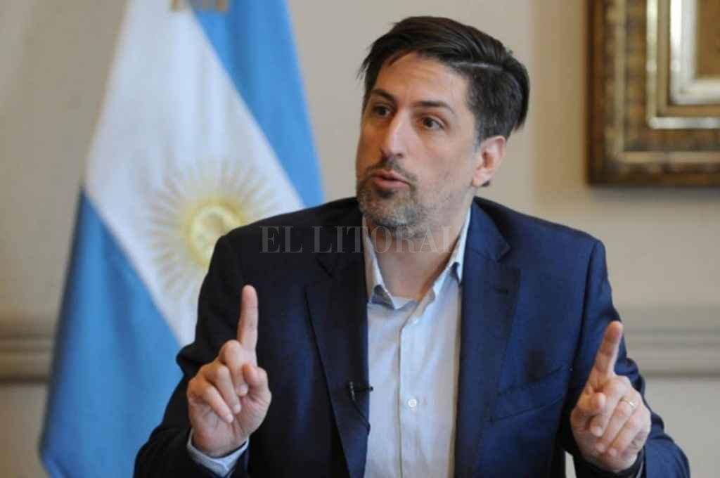 Nicolás Trotta, ministro de Educación de la Nación. Crédito: Gentileza