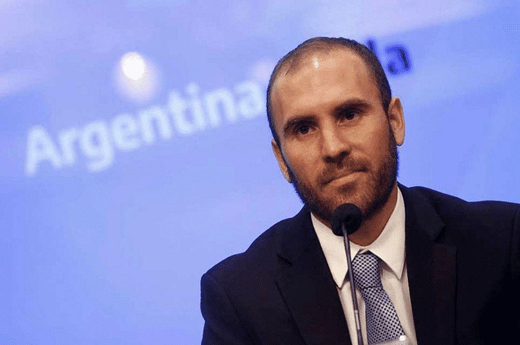 Martin Guzmán, ministro de Economía de la Nación.  Crédito: Archivo