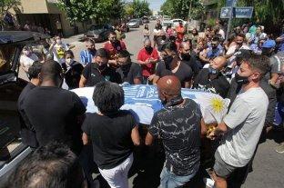 """Despidieron los restos del """"Morro"""" García en Mendoza"""