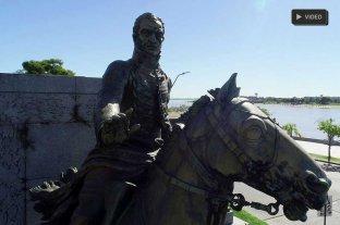 """""""El Brigadier no tiene quien lo cuide"""": el monumento de López está desmejorado"""