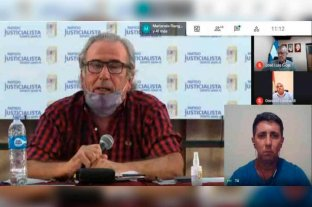 El senador Rubén Pirola asumió como vicepresidente primero del PJ