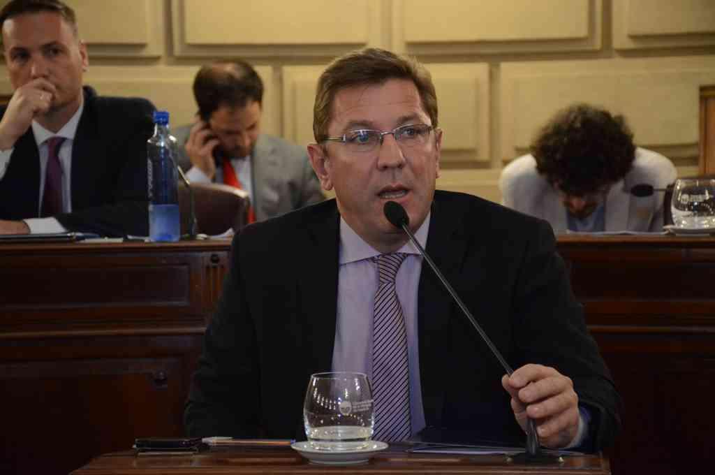 Rodrigo Borla, senador por San Justo Crédito: Gentileza