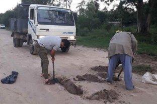 Rincón: realizan tareas en puntos críticos afectados por las lluvias