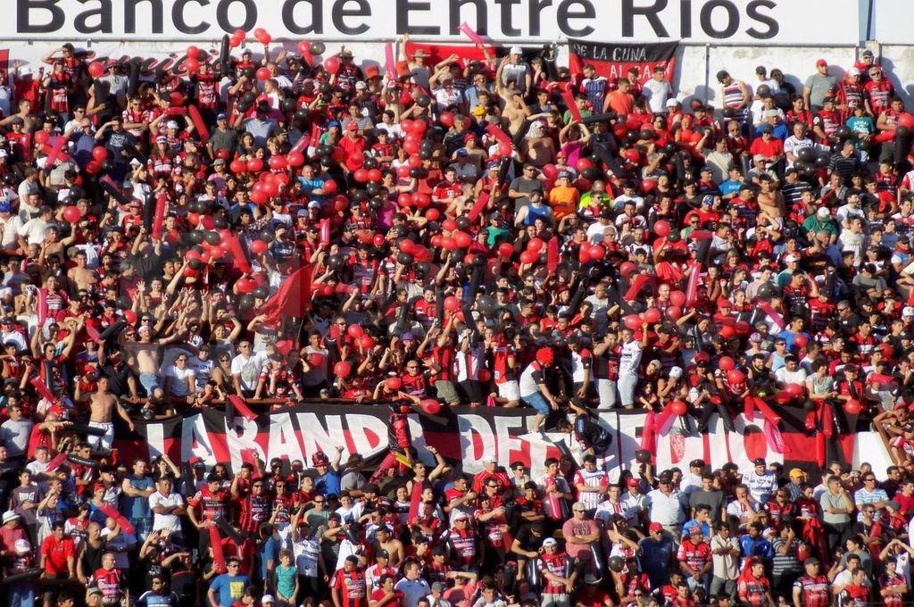 Una posibilidad hoy lejana, Patronato ante Independiente con público.  Foto:Archivo