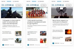 El Litoral está disponible en Google Showcase