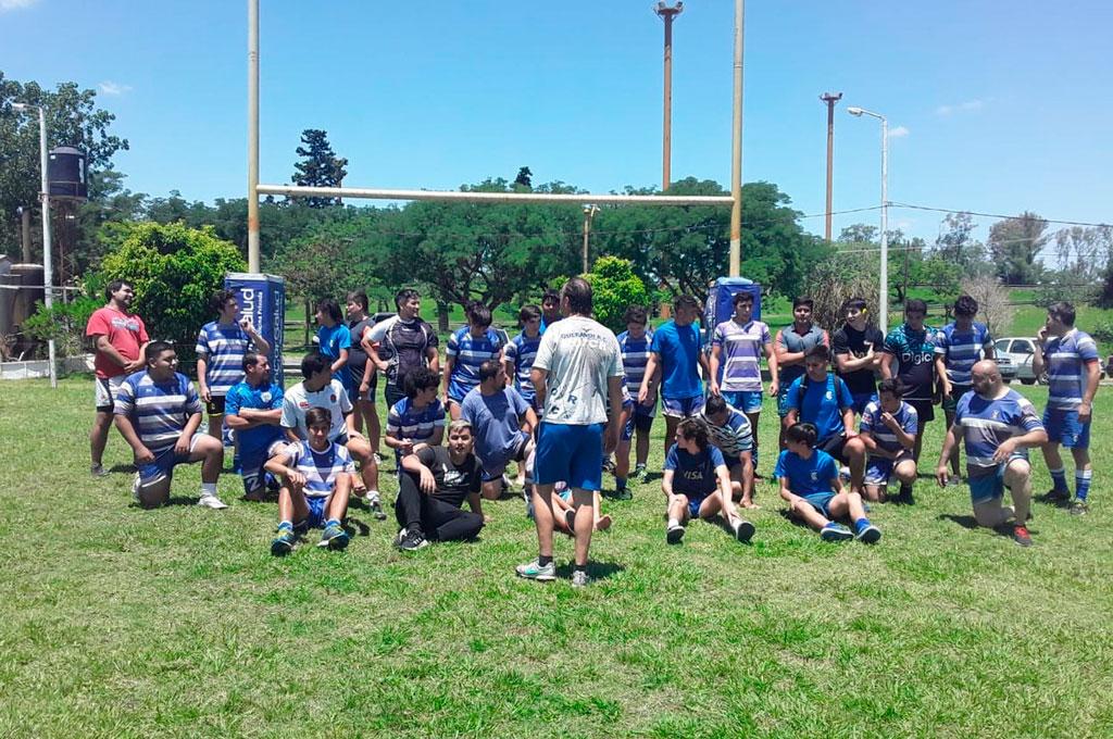 Querandí Rugby Club lleva adelante con entusiasmo, los entrenamientos correspondientes al Plantel Superior y a las diferentes categorías Juveniles; mientras se prepara con vistas al inicio del Rugby Infantil y el Hockey. Crédito: Gentileza QRC
