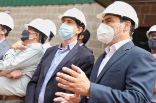 El gobernador de Corrientes visitó la Planta de Biomasa FReSA junto al ministro de Pedro