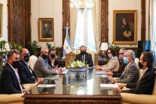 Retenciones: Alberto Fernández se reunió con la Mesa de Enlace