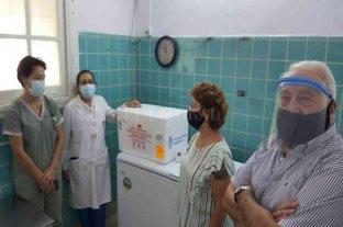 Sosa celebró que llegaron las primeras vacunas al departamento Vera