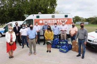 Fortalecen la dotación de ambulancias en el departamento Castellanos